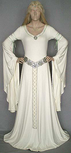 Mittelalter kleid extra lang